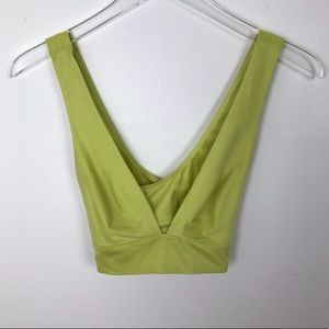 aerie | Chill Play Move Sunnie Bralette Yellow